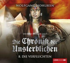 WOLFGANG-HOHLBEIN-DIE-CHRONIK-DER-UNSTERBLICHEN-TEIL-8-DIE-VERFLUCHTEN-4-CD-NEW