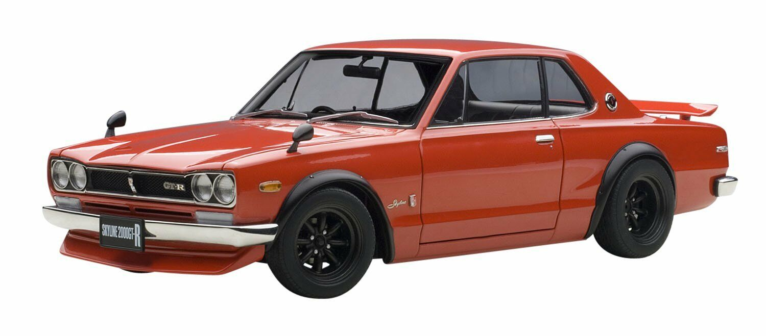 AUTOart 1 18 Nissan Skyline GT-R Tune Version Red Finished Goods F S from Japan