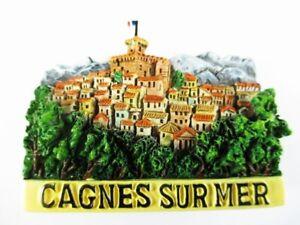 Aimant Cagnes Sur Mer Moulés, Souvenir France France, Nouveau *-enir Frankreich France,neu *fr-fr Afficher Le Titre D'origine Remises Vente
