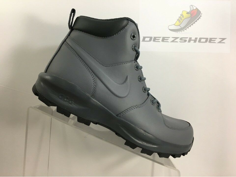 Nike Manoa Boots Leather Grey Men's Us Size 8