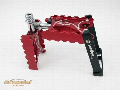 Wellgo C193 Kick Stand Bearing Pedal Red