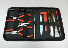 BEADING TOOL KIT 10 Pc Set TOOLS for BEADERS JEWELRY MAKING JEWELERS Hand Tools