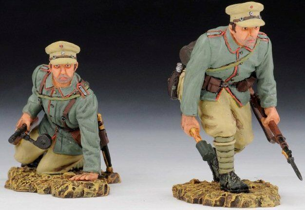 THOMAS GUNN GUNN GUNN WW1 GERMAN LOA004 GERMAN DESERT ASSAULT TEAM MIB 07b542