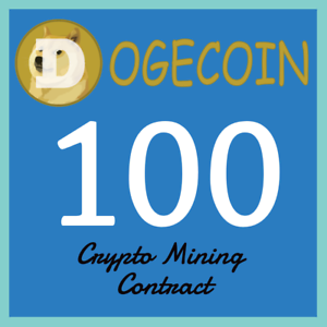 Details about Dogecoin 100 DOGE | MINING CONTRACT | Crypto Currency | Top  31 Coinmarketcap