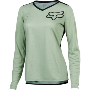 Fox Racing 2018 Women's Indicator ASYM Long Sleeve Jersey  Sage  lowest prices