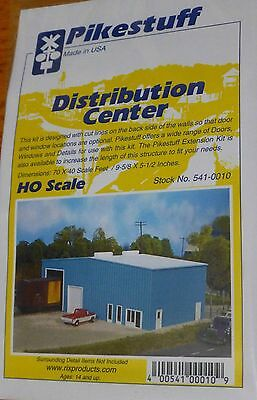 Pikestuff HO Scale Distribution Center Building Kit NEW 541-0010