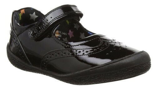 100/% Postive Reviews Hush Puppies Rina Girls Black Patent Leather School Shoes
