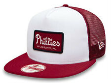 New Era Philadelphia Phillies Emblem Foam Red / White Trucker Cap Snapback - M/L