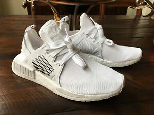 1cb5f5e099250 NEW ADIDAS BY9922 NMD XR1 TRIPLE WHITE BOOST RUNNING SHOES US 9 100 ...