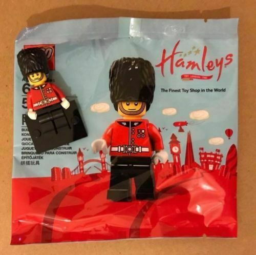 London 5x LEGO 5005233 Hamleys Royal Guard // Wachsoldat Neu Polybag D1