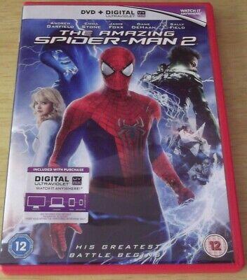 The Amazing Spider Man 2 2014 Dvd Ebay