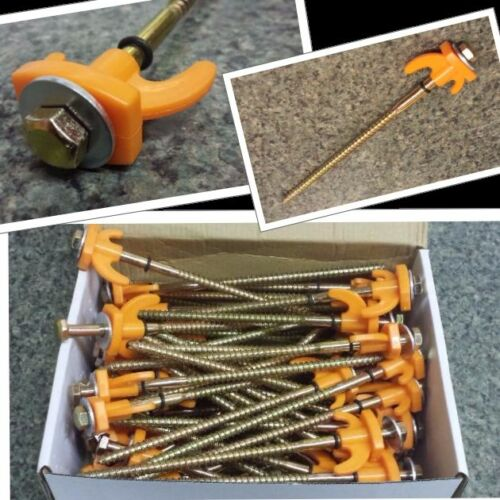 Tent Pegs / Rock Pegs / Awning Pegs / Drill Top Pegs ...