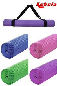Extra-Long-Yoga-Mat-183cm-x-61cm-Fitness-Camping-Exercise-Pilates-with-Strap-Bag