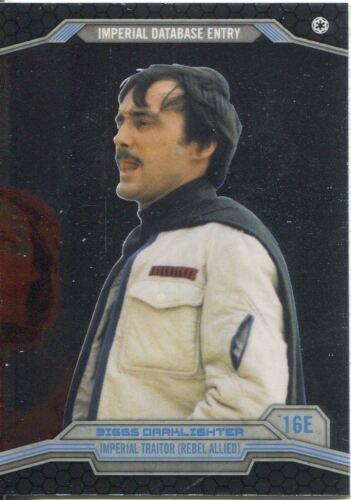 Star Wars Chrome Perspectives Base Card #16E Biggs Darklighter