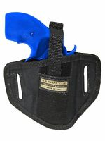 Barsony 6 Position Ambidextrous Pancake Holster For Rossi Eaa 2 Snub Nose