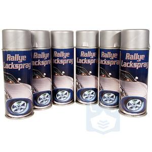 6x felgensilber spraydose lackspray spr hdose stahlfelgen. Black Bedroom Furniture Sets. Home Design Ideas