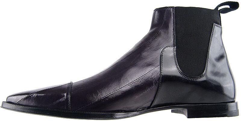 960 Cesare Paciotti Eel Ankle Stivali US 7.5 Italian Italian Italian Designer Shoes 91bcb1