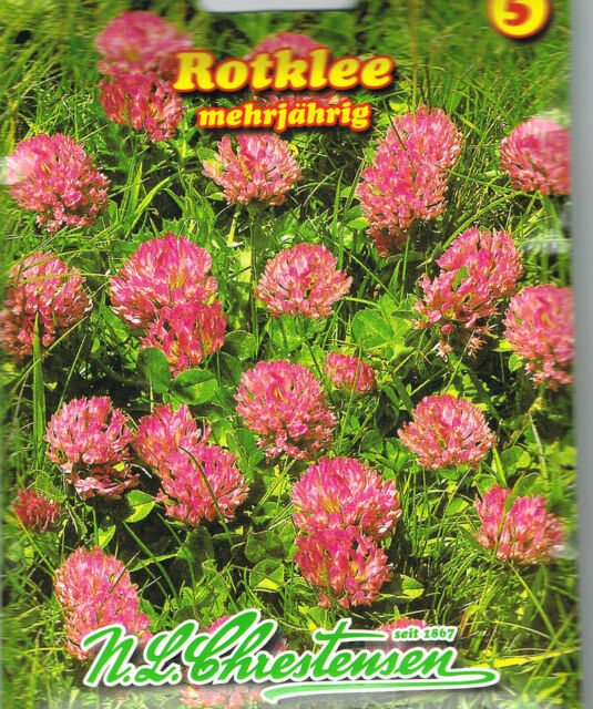 (3,13€/100g) Rotklee KleeTierfutter Gründünger Gartendoktor Gründüngung 27002113