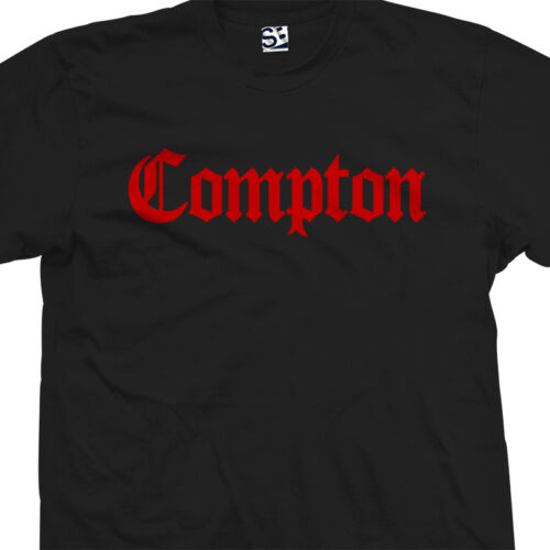 Compton OG T-Shirt All Sizes /& Colors Classic Old English OE Hub City Tee