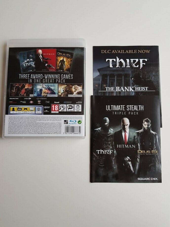 Ultimate Stealth Triple Pack, PS3, adventure