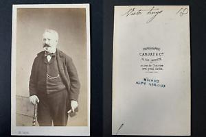 Carjat-Paris-Victor-Hugo-1862-Vintage-albumen-print-CDV-Tirage-alb