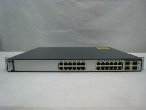 Cisco WS-C3750G-24TS-S  24 Gigabit Port Layer 3 Switch