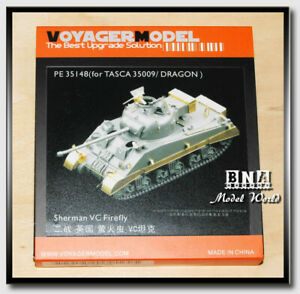 Voyager-PE35148-1-35-WWII-Sherman-VC-Firefly-Detail-Set-for-Tasca-35009-Dragon