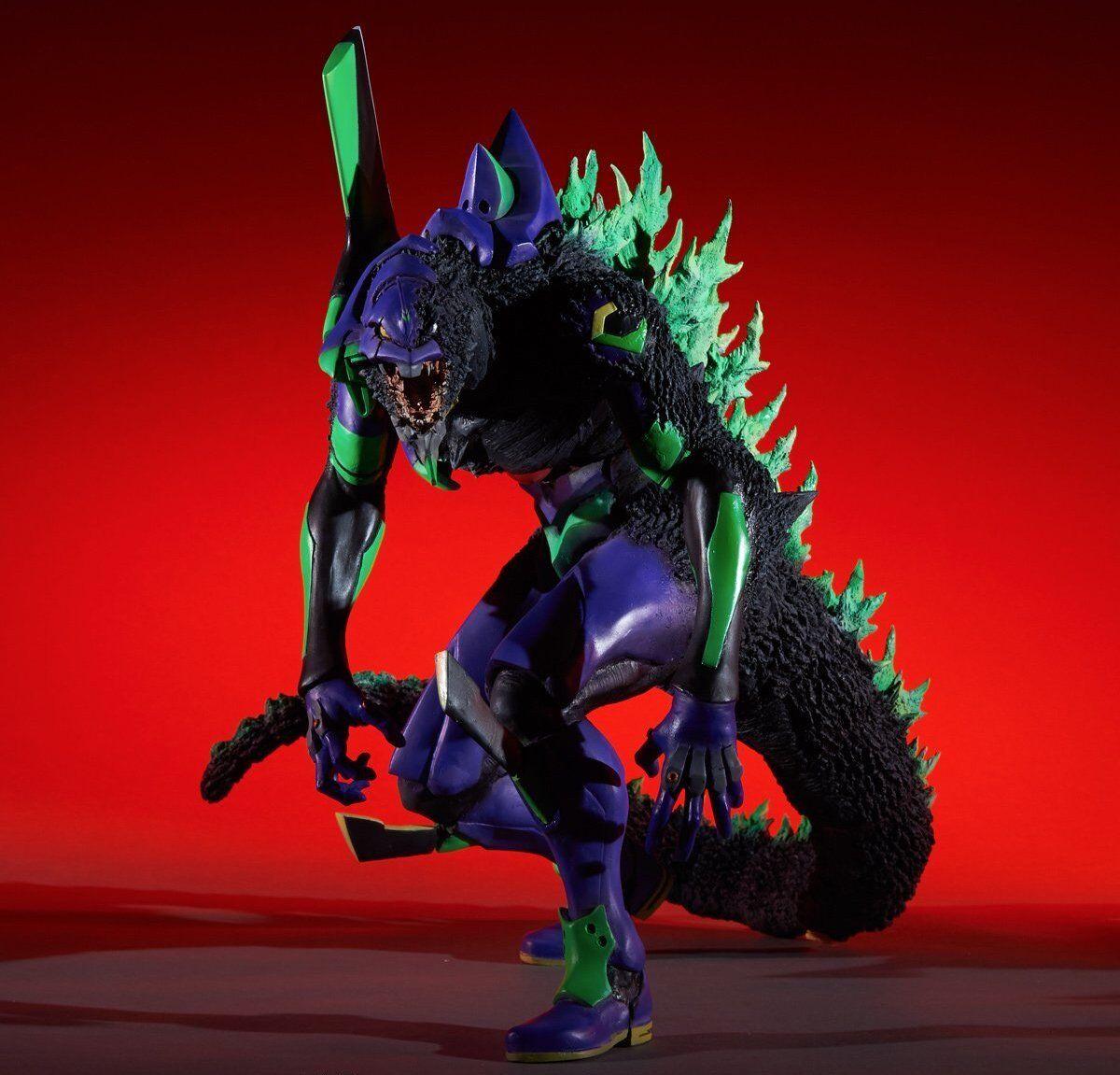 Godzilla vs Evangelion X-Plus Toho 30cm Evangelion First Unit G Awakening Form