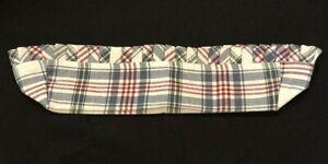 Longaberger-Cracker-Basket-Market-Day-Plaid-Fabric-Liner