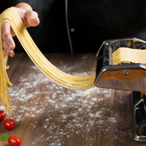 5 in 1 Stainless Steel Pasta Lasagna Spaghetti Tagliatelle Ravioli Maker Machine