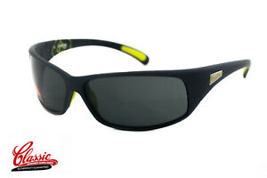 Bolle-Recoil-12202-Matte-Grey-Frame-with-Grey-Lens-Mens-Wrap-Sunglasses