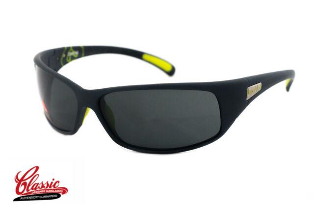 BOLLE SUNGLASSES RECOIL 12202 Matte Black Frame with grey Lens NIB