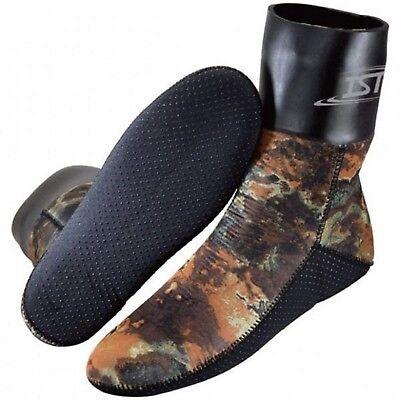 Good Ist Cska0130-08 3mm Nylon Ii Neoprene Camouflage Spearfishing Socks Elegant In Smell Fins, Footwear & Gloves