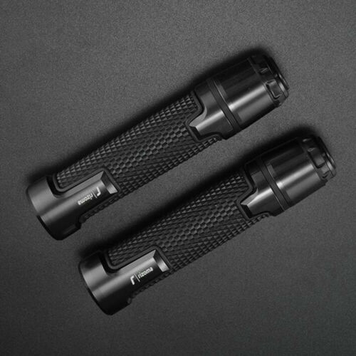 Universal Motorcycle Handlebar Covers 22MM Hand Grips Protect Part Rubber Black