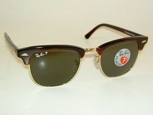 ray ban clubmaster rb3016 sunglasses  New RAY BAN Sunglasses CLUBMASTER Tortoise Frame RB 3016 990/58 ...