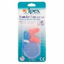 Apex Ear Plugs Foam With Cord 1 Pr Pack Of 8
