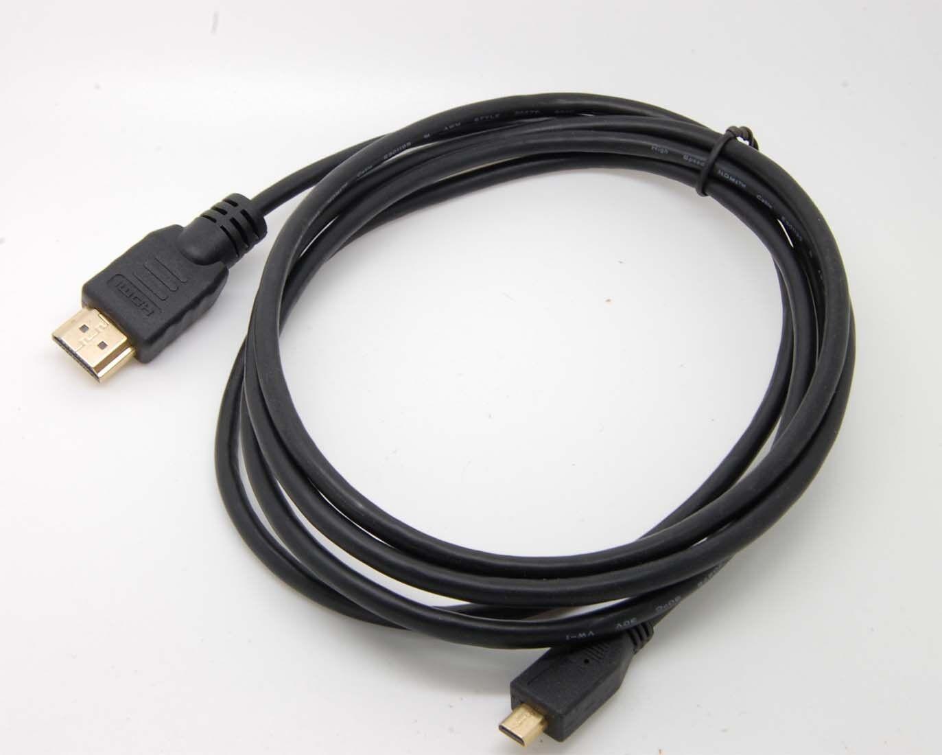 E‑M10 Mark II Camera Life-Tech 6FT Micro HDMI to HDMI Cable Cord for Olympus E‑M5 E‑M5 Mark II E‑M10