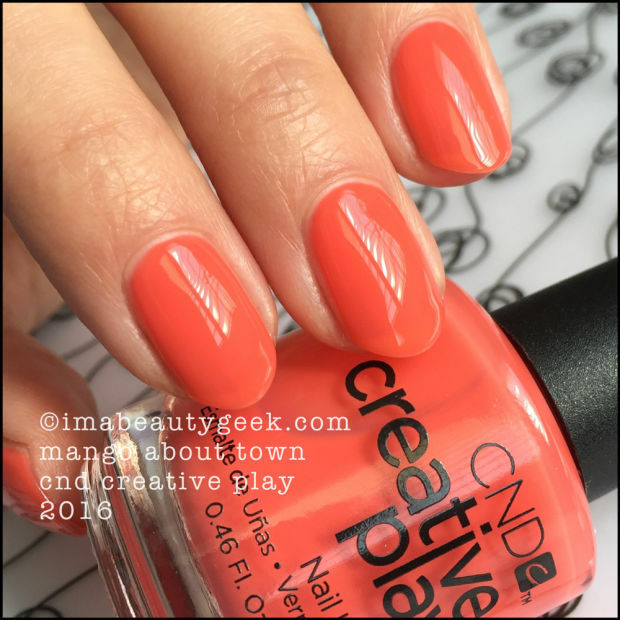CND Creative Play Nail Polish Lacquer in Mango About Town - 13.6ml ...