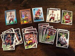 Washington-Redskins-Prizm-Refractor-Rookie-Lot