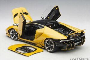 Autoart Lamborghini Centenario Lp770 4 Nouveau Giallo Orion Met