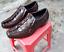 Men-039-s-Shoes-Genuine-Crocodile-Alligator-Skin-Leather-Handmade-Brown-VSKG01 thumbnail 1