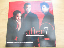 "After 7 – Heat Of The Moment Vinyl 12"" 45RPM UK 89 Funk Soul Pop VIRGIN A VUST7"
