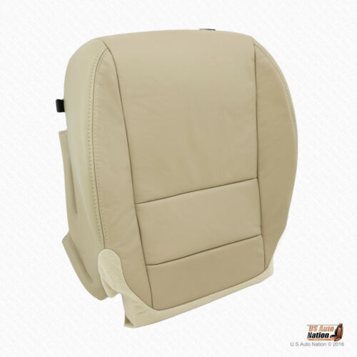 For 2013 2014 2015 Acura MDX PASSENGER Bottom Replacement Leather Seat Cover Tan