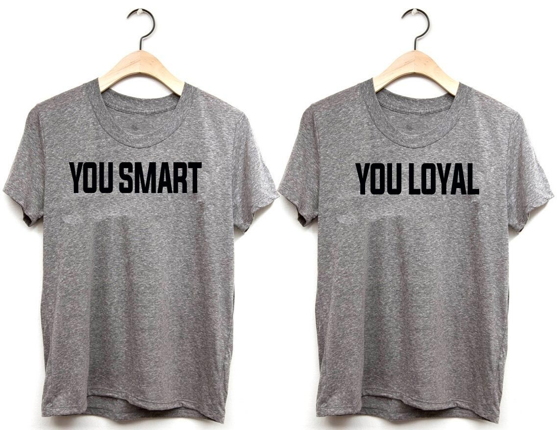 YOU SMART, YOU LOYAL T-shirt BUNDLE, Short Sleeve,Small to Extra-Large.