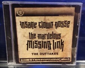 Insane-Clown-Posse-The-Marvelous-Missing-Link-Outtakes-CD-twiztid-psychopathic