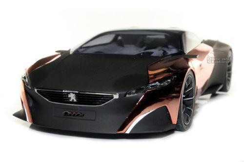 1 18 Nouveauté NOREV Spécial Modèle-Peugeot Concept Car Onyx Salon de Paris 2012