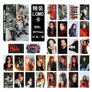 30pcs-set-KPOP-Red-Velvet-Collective-Photo-Card-Poster-Lomo-Cards