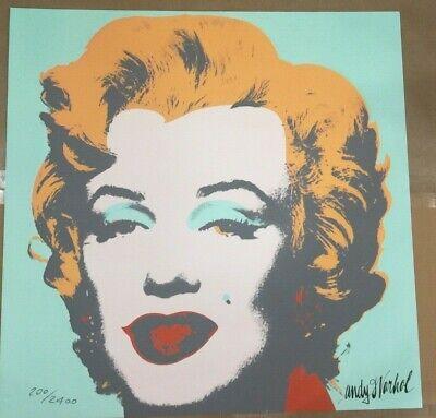 Andy Warhol Mao Zedong 60x60 cm Certificato di autenticita/'