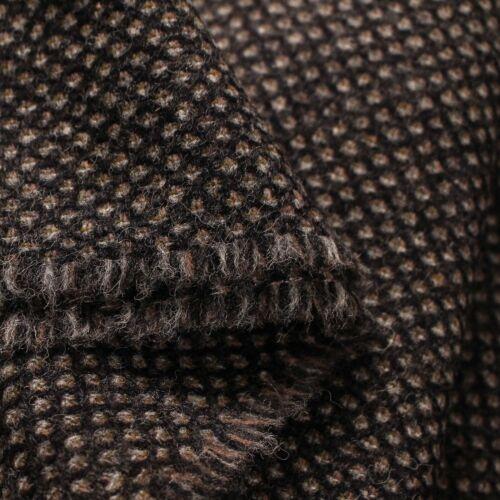 Small Batch 100/% Wool UK Made Tweed Fabric Cloth *£26.50 Per Metre* Not Harris