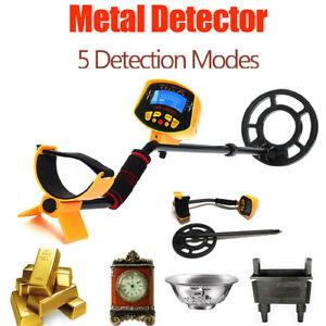Pantalla-LCD-Detector-de-metales-Blanco-profundo-Bobinas-de-potencia-Tesoro-Caza